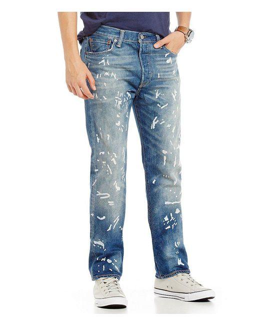 Levi's | Blue ® 501® Original Fit Jeans for Men | Lyst