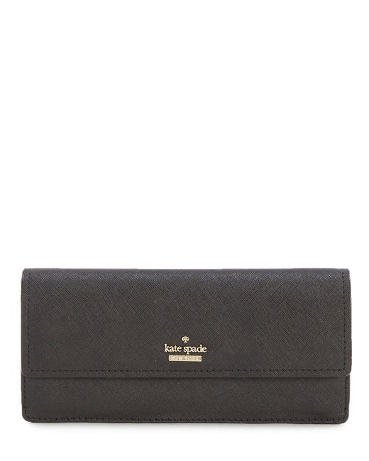 Kate Spade - Black Cameron Street Collection Alli Continental Wallet - Lyst