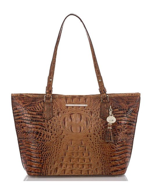 Brahmin | Brown Toasted Almond Collection Medium Asher Tote | Lyst