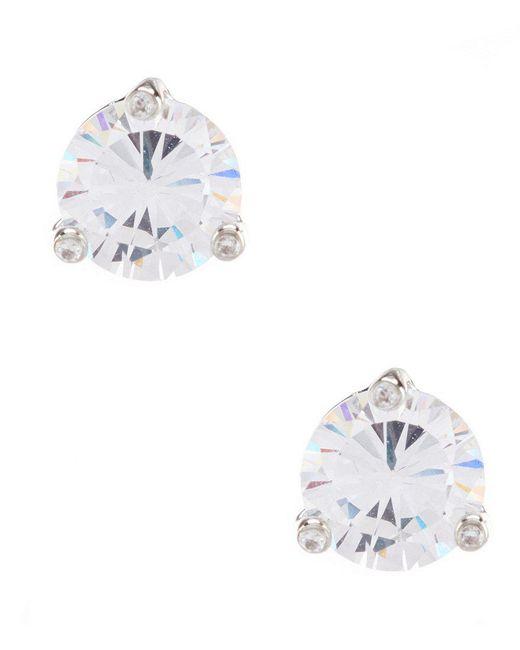 Kate Spade | Metallic Cubic Zirconia Stud Earrings | Lyst