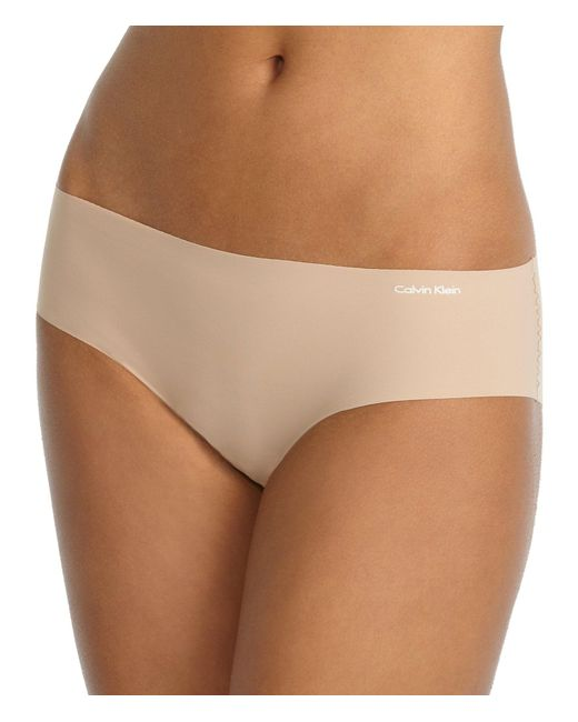 Calvin Klein - Brown Invisibles Hipster Panty - Lyst