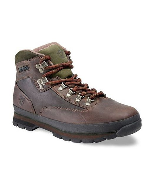 Timberland Quot Euro Hiker Quot Hiking Boots In Brown For Men Lyst