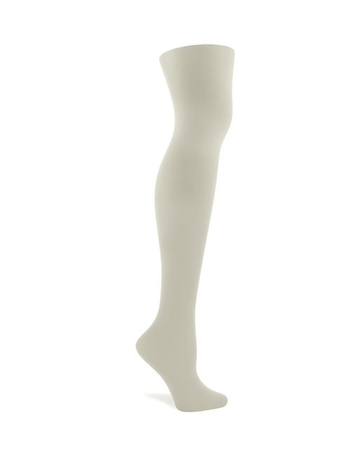 Hue | Natural Opaque Non-control-top Tights | Lyst