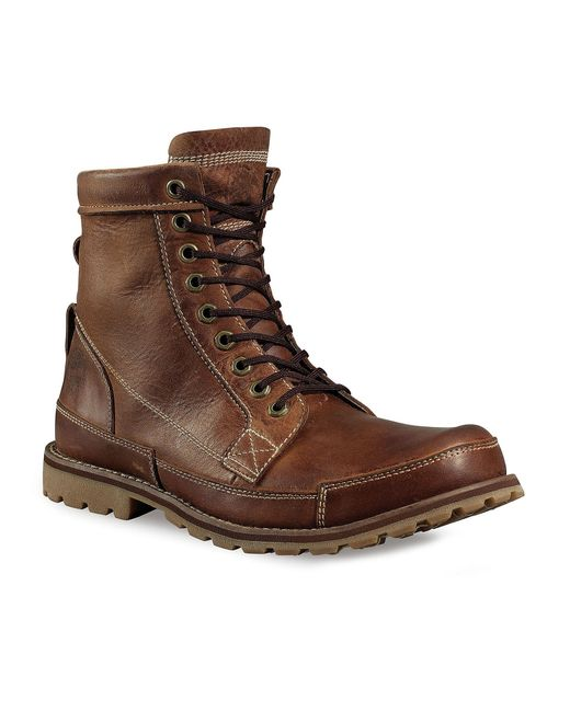 Timberland | Brown Earthkeeper Waterproof Leather Boots for Men | Lyst