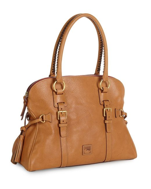 Dooney And Bourke Roma Satchel Color Natural