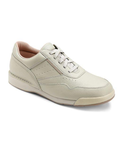Rockport Prowalker Leather Walking Shoes in White for Men ...