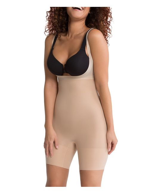 Spanx Shape My Day Open-bust Mid-thigh Body Shaper in ...