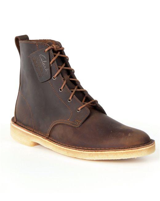 Clarks | Brown Mali Desert Boots for Men | Lyst