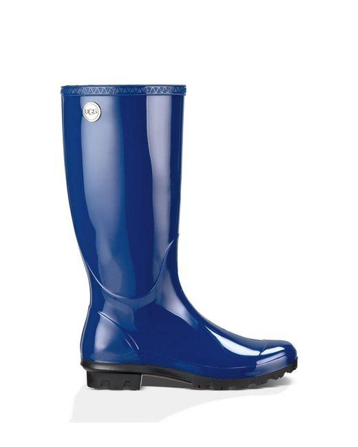 Ugg | Blue Shaye Rubber Rainboots | Lyst