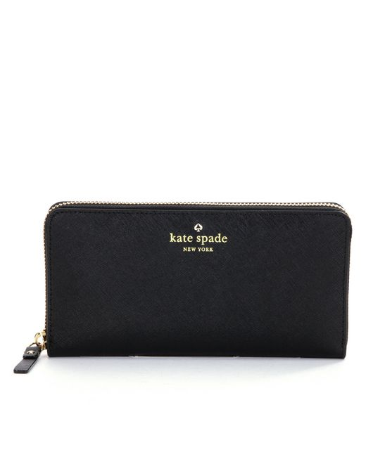 Kate Spade   Black Lacey Wallet   Lyst