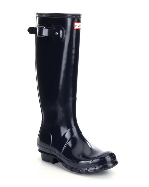 Creative Hunter Women39s Original Short Rain Boots In Blue Navy