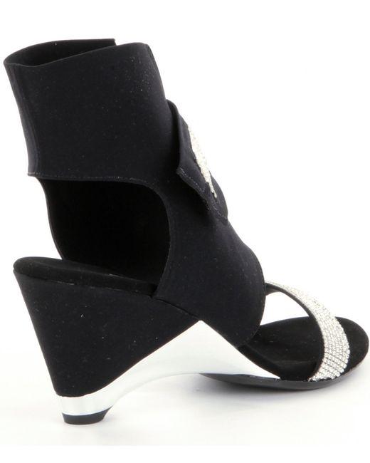 Onex Celebrity Dress Sandals In Black Lyst