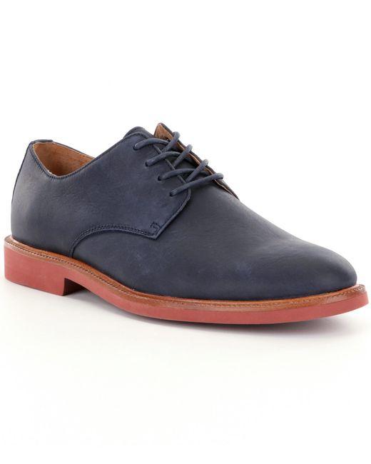 Polo Ralph Lauren | Blue Nubuck Wingtip Oxford for Men | Lyst