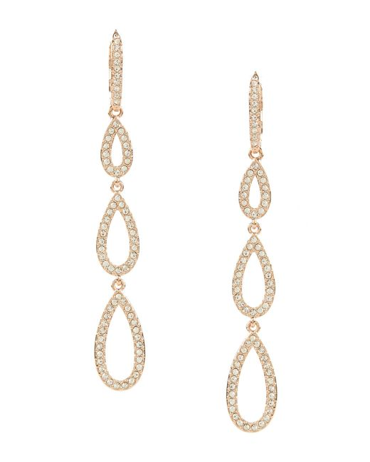 Nadri | Metallic Pavé Drop Earrings | Lyst