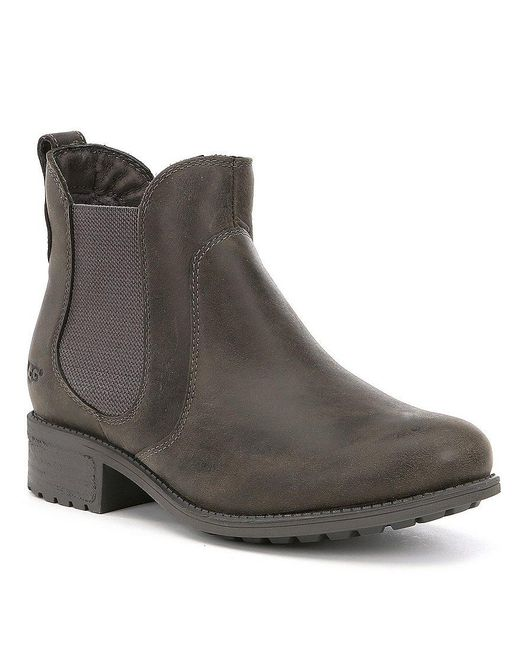 Ugg | Brown Ugg Bonham Chelsea Boot | Lyst