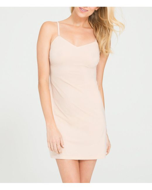 Spanx | Natural Thinstincts Convertible Slip | Lyst