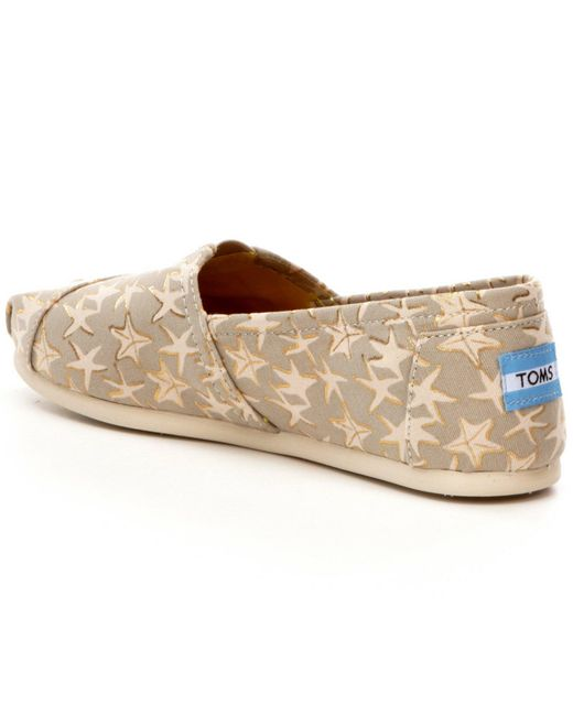 TOMS | Multicolor Alpargata Starfish print Shoes | Lyst
