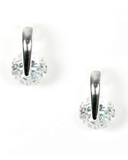 Givenchy - Metallic Crystal Small Drop Earrings - Lyst