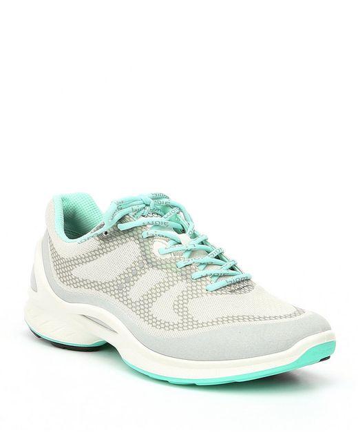 Ecco - White Women's Biom Fjuel Tie Sneakers - Lyst