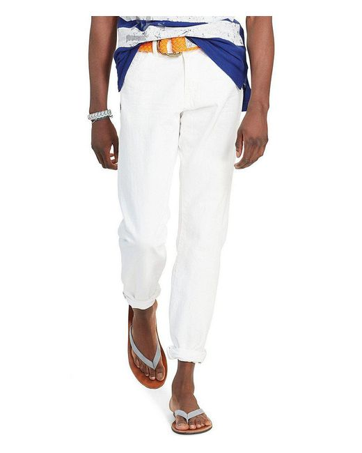 Polo Ralph Lauren | White Hampton Straight-fit Jeans for Men | Lyst