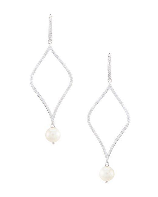 Nadri - Metallic Lanai Large Dewdrop Statement Earrings - Lyst