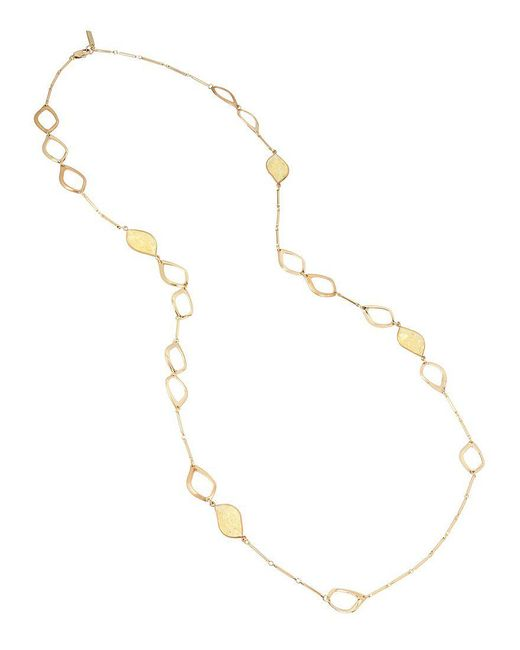 Kenneth Cole | Metallic Citrine Station Necklace | Lyst