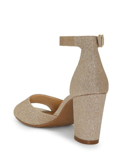 00ac87c63f3 ... Jessica Simpson - Metallic Sherron Ankle Strap Block Heel Sandals -  Lyst ...