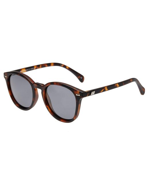 Le Specs - Brown Bandwagon Sunglasses - Lyst