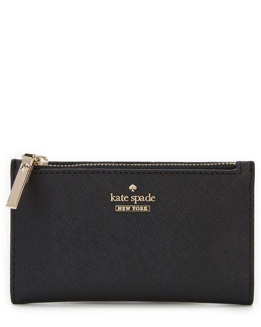 Kate Spade - Black Cameron Street Mikey Bifold Colorblock Wallet - Lyst