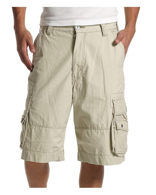 Levi's - Natural ® Squad Belted Cargo Shorts for Men - Lyst