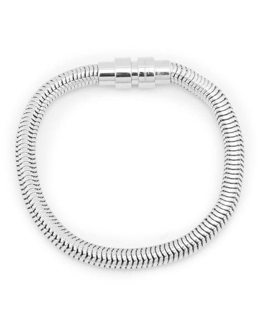 Kenneth Cole - Metallic Snake Chain Bracelet - Lyst