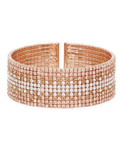 Anne Klein - Metallic Rose Gold Ombre Cuff Bracelet - Lyst