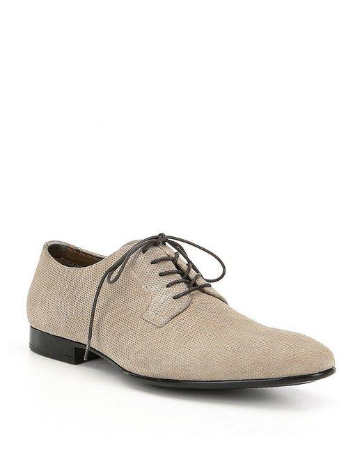 ALDO | Blue Men's Clinttun Plain Toe Oxfords for Men | Lyst