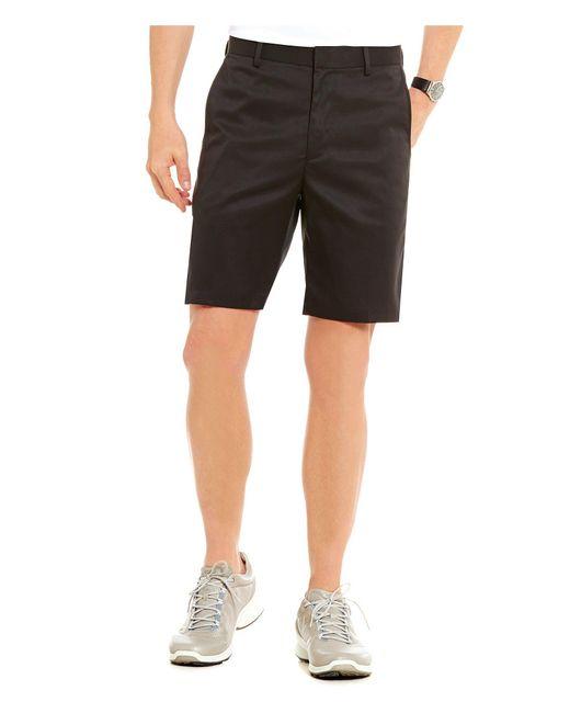 Bobby Jones - Black Golf Xh20 Tech Stretch Flat-front Shorts for Men - Lyst