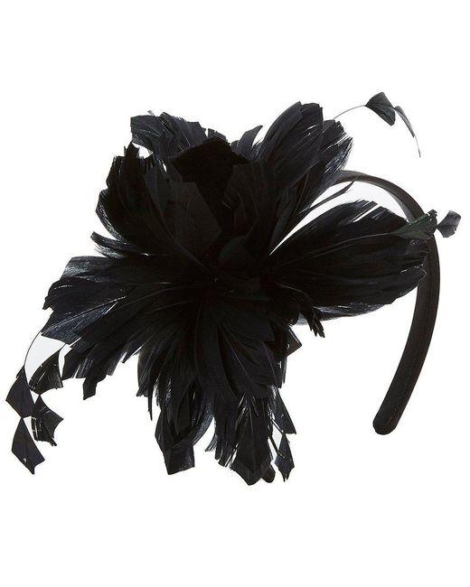 August Accessories | Black Amelie Feather Fascinator | Lyst