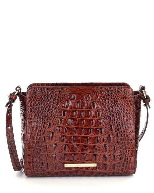 Brahmin - Brown Melbourne Collection Carrie Cross-body Bag - Lyst
