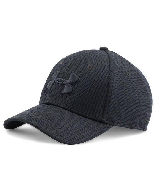 Under Armour - Black Blitzing Ii Stretch Cap for Men - Lyst