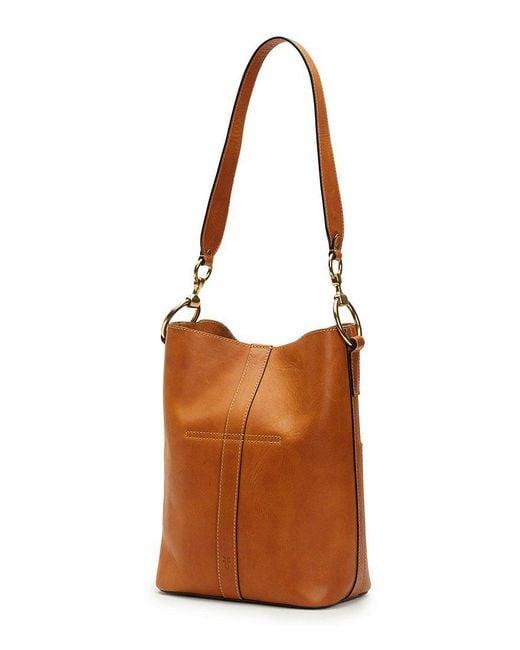 Frye - Brown Ilana Harness Bucket Hobo Bag - Lyst