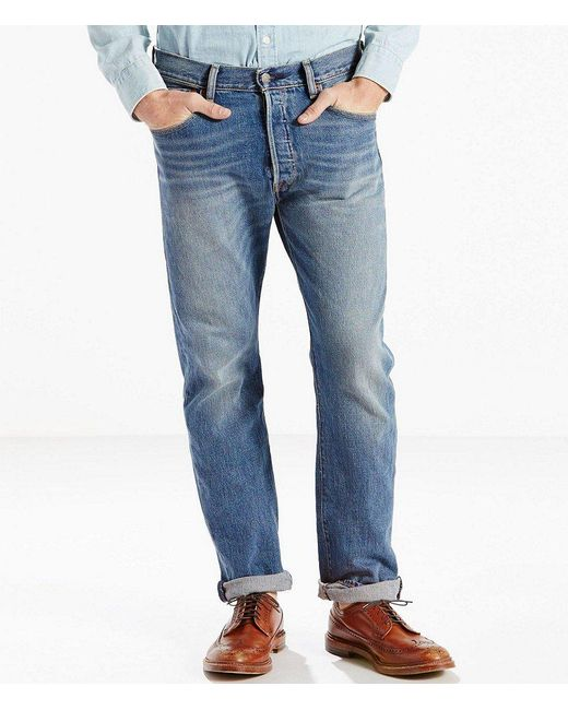 Levi's | Blue ® Big & Tall 501 Stretch Original Fit Jeans for Men | Lyst