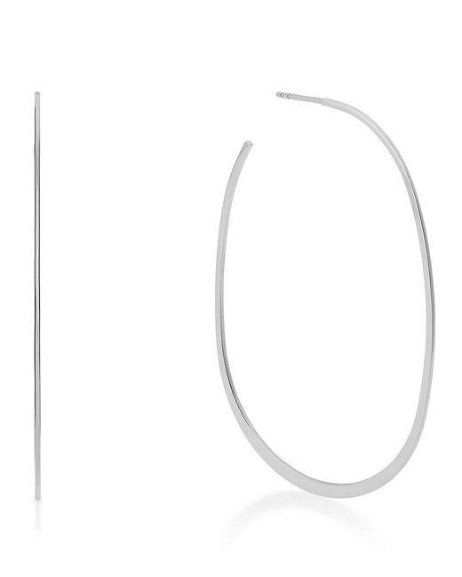 Michael Kors | Metallic Brilliance Slim Hoop Earrings | Lyst