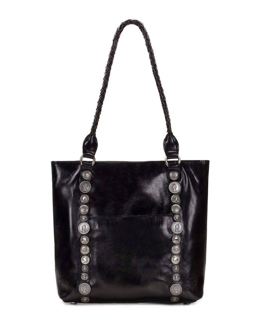 Patricia Nash - Black Vintage Studded Hardware Collection Rena Tote - Lyst