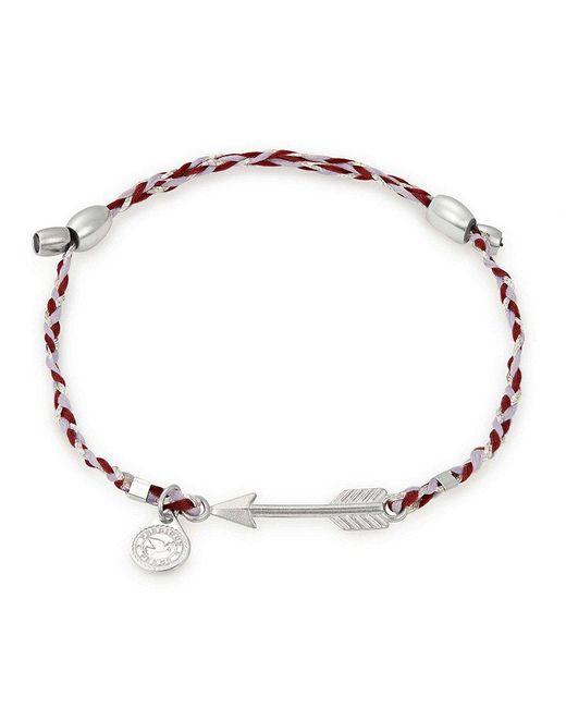 ALEX AND ANI - Metallic Arrow Precious Threads Adjustable Bracelet - Lyst