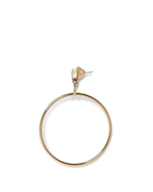 Vince Camuto - Metallic Metal Hoop Earrings - Lyst