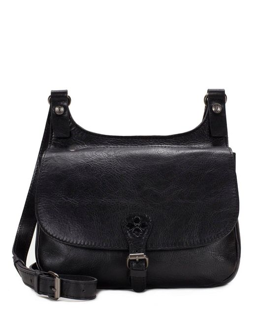 Patricia Nash - Black Distressed Vintage Collection Saddle Bag - Lyst