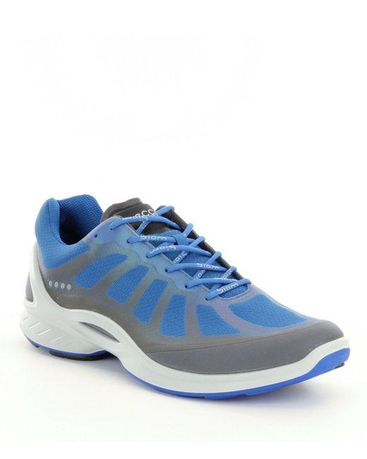 Ecco - Blue Men's Biom Fjuel Racer Running Shoes for Men - Lyst