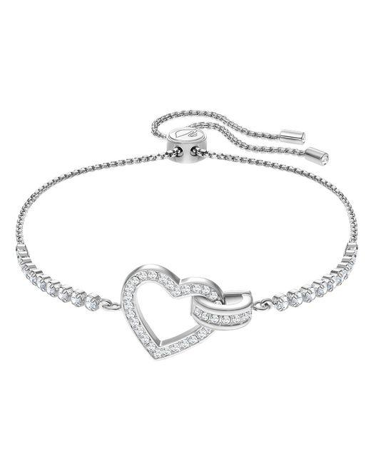 Swarovski Metallic Lovely Heart Bracelet