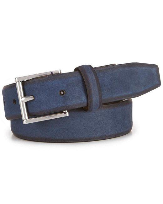 Cole Haan - Blue Feather Edge Belt for Men - Lyst