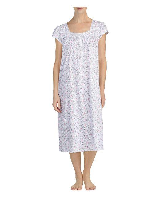 Eileen West - Multicolor Knit Cap Sleeve Ballet Nightgown - Lyst