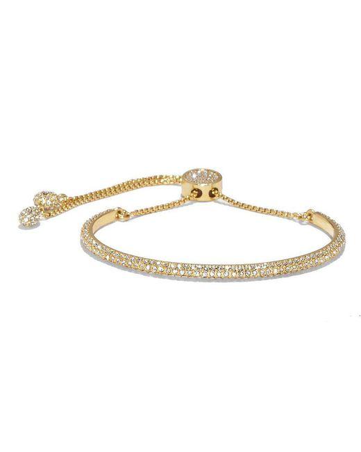 Vince Camuto - Metallic Pav Crystal Slider Bracelet - Lyst