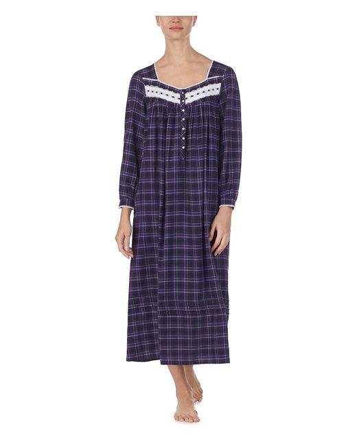 Eileen West - Purple Flannel Ballet Nightgown - Lyst